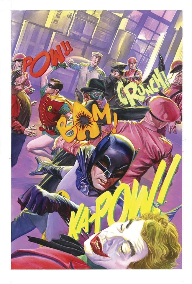 Alex Ross' Batman '66 meets the Green Hornet #6