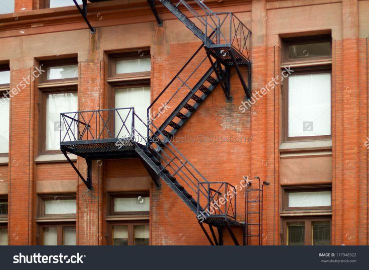 Best Metal Fire Escape Staircase Prices 4 Ступеньки Пожарная 400 x 300