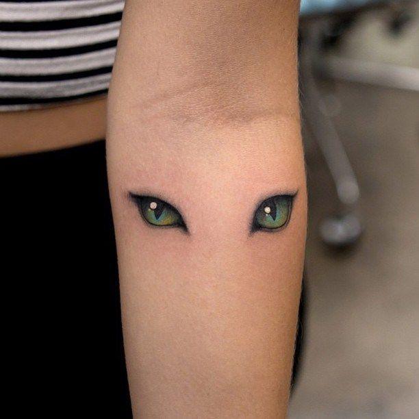 Cat Eyes Tattoo                                                                                                                                                                                 Más