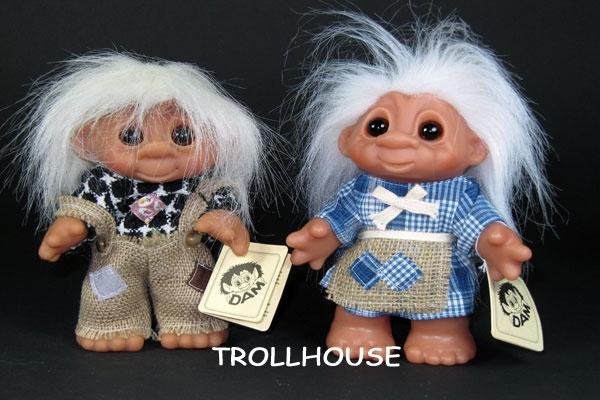 Dam Forest trolls, 19 cm