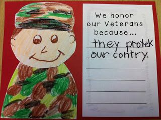 Kindergarten Kids At Play: Kindergarten Veterans Day Lesson Plan