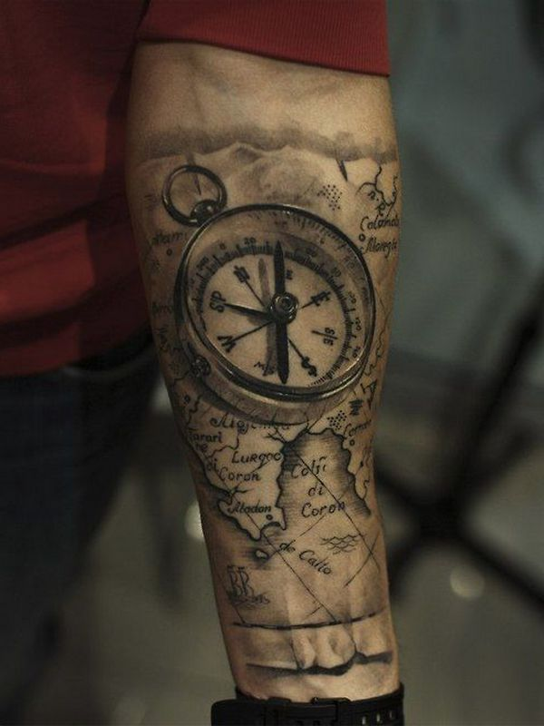 tattoo-journal | 30 Creative Forearm Tattoo Ideas For Men and Women | http://tattoo-journal.com