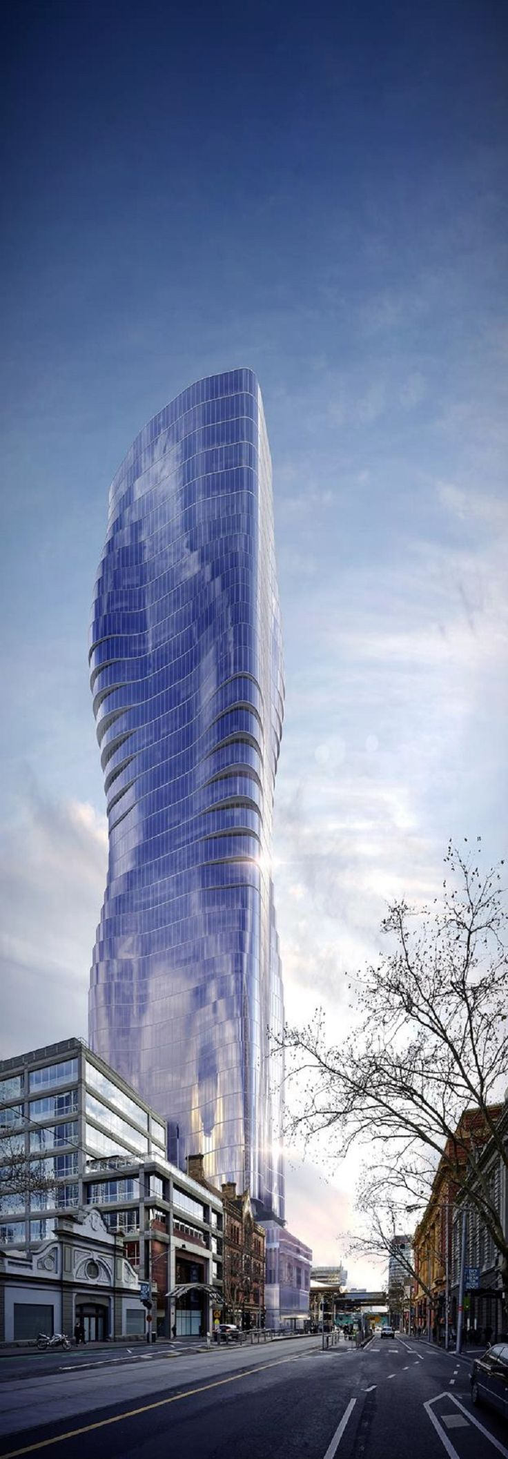 This incredible 68-storey skyscraper will soon be one of the tallest buildings in Melbourne | Business Insider