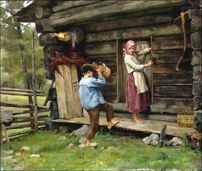 Maria Wiik (Finnish artist, 1853-1928) Hameesta