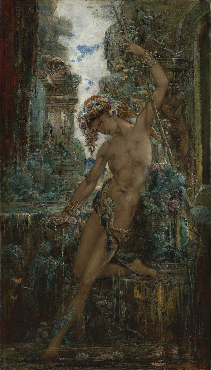 Gustave Moreau - Narcissus, c. 1890