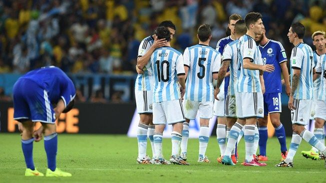 Argentina's game of two halves