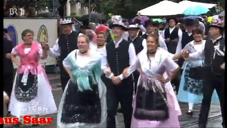 BANATER SCHWABEN UND SAARER TANZGRUPPE AUF DER WIESN 2016