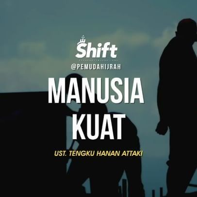 Siapa manusia tangguh? Happy monday (hari paling seru) 👍😊 #1minutebooster #pemudahijrah #shift