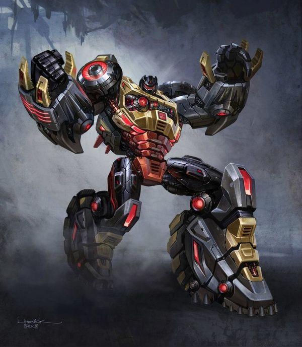 Transformers Fall of Cybertron Grimlock