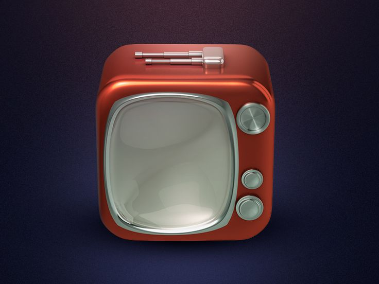 Tv Icon - 3D by yasir wadood