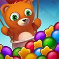 Bubble Shooter Saga - http://www.allgamesfree.com/bubble-shooter-saga/  -------------------------------------------------  Bubble Shooter Saga is the latest and greatest of the famous bubble shooter type arcade games. Once you start playing it, you won't stop until you finish all its 75 levels. The goal of the game is to help the cute, little teddy by collecting items he wants to have. The items are hidden among c...  -------------------------------------------------  #