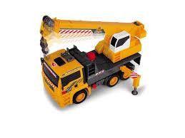 Dickie Air pump camion grue - DICKIE TOYS