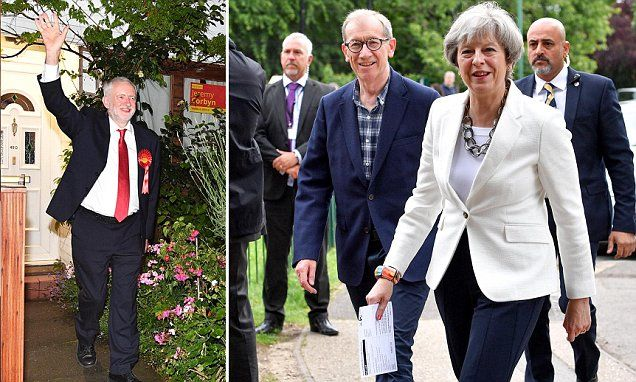 Now for the Tory version of 'stability' Disaster for May as Tories suffer losses in election