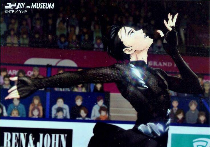 Chihoko? Chihoko — Yuri!!! on Ice Museum pics, edited them to get a...