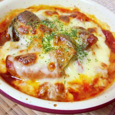 先日のラタトィユにチーズとパセリを乗せて、オーブンでこんがり焼いてみました~(≧▽≦) - 37件のもぐもぐ - 先日のラタトィユをリメイク by sakezuki