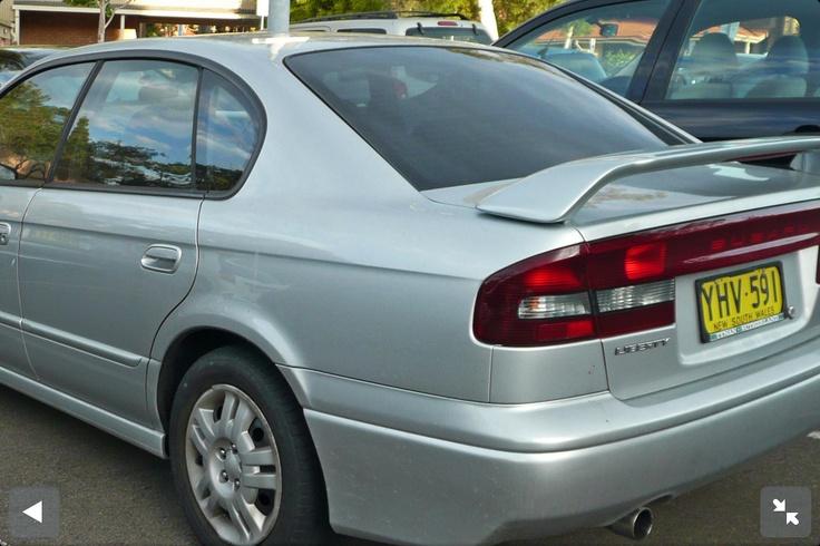 2002 Subaru Liberty 2.5 litre RX in Silver