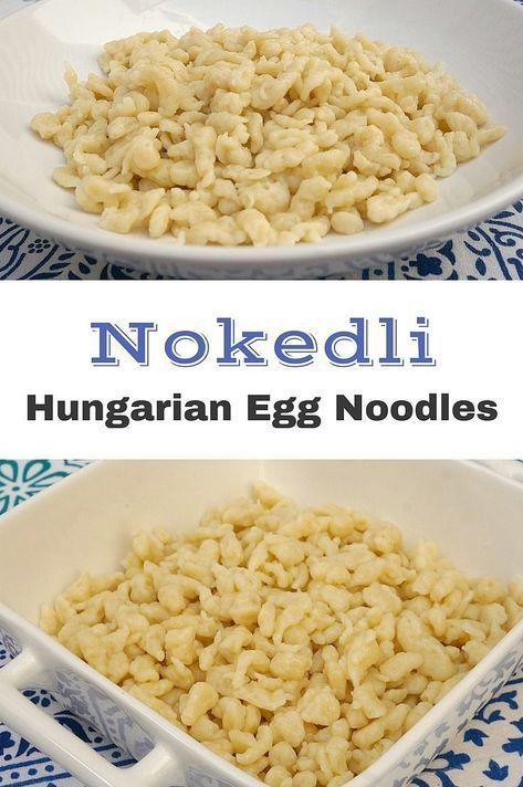 Nokedli  Hungarian Egg Noodles  Spaetzle  Spatzle  Chicken Paprikash Noodles How…
