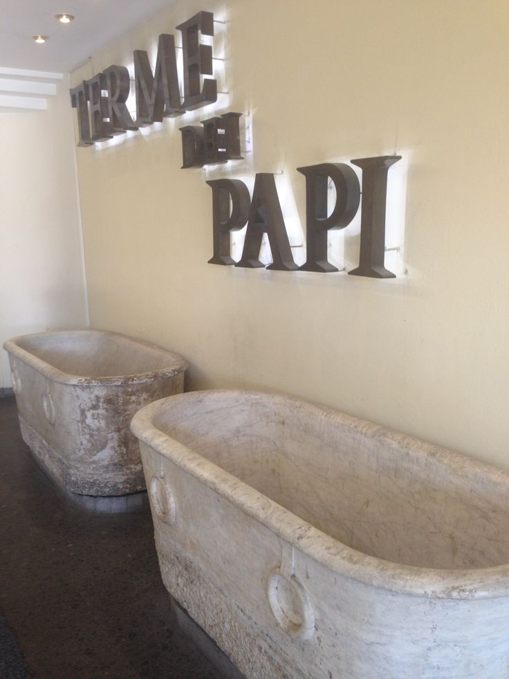 """The Baths of the Popes. Famous Terme center of Italy. The name """"dei Papi"""" - of the Popes - derives from the intervention of a third pope, Nicholas V, who was so impressed by the curative effects of the local waters that, in 1450, he had a splendid palace built here, in order to have somewhere to stay whenever he required treatment."""
