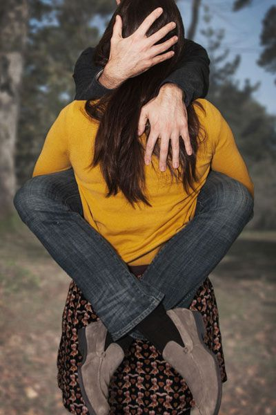 This is HILARIOUS! I love goofy engagement photos. You only get engaged once...it's okay to have some fun!