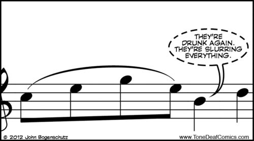 Musician Jokes | music music humor music jokes notation slur musical notes musical ...