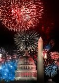 Fourth of July Fireworks 2013 in Washington DC