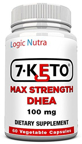 7 Keto DHEA 100 mg 60 Vegetable capsules per bottle-maximum strength - Satisfaction Guaranteed or your money back no questions asked! ** Learn more by visiting the image link.