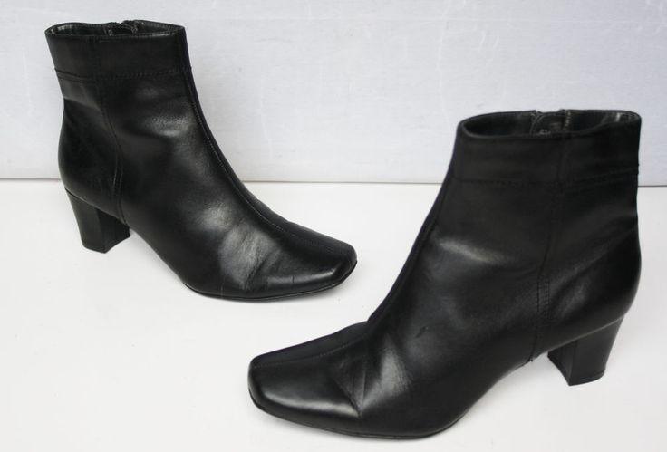 MARKS & SPENCER LADIES SOFT LEATHER ANKLE BOOTS,HARDLY USED SIZE 5.5