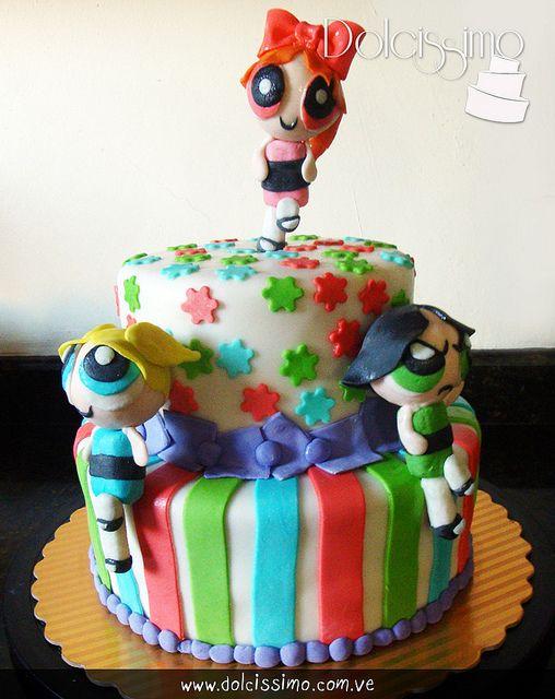 powerpuff girls cake   Flickr - Photo Sharing!