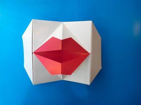 Говорящие губы оригами (Young-soon Lee), Talking lips of origami. - YouTube