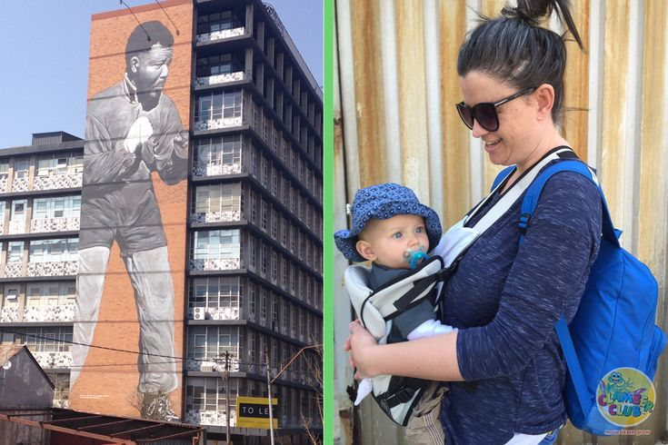 While on holiday recently, I wracked my brain for different activities to do with my baby. There were the obvious options of active play activities, and I was in need of something different. Then a friend of mine invited us on a walking tour of the Maboneng district in Johannesburg.
