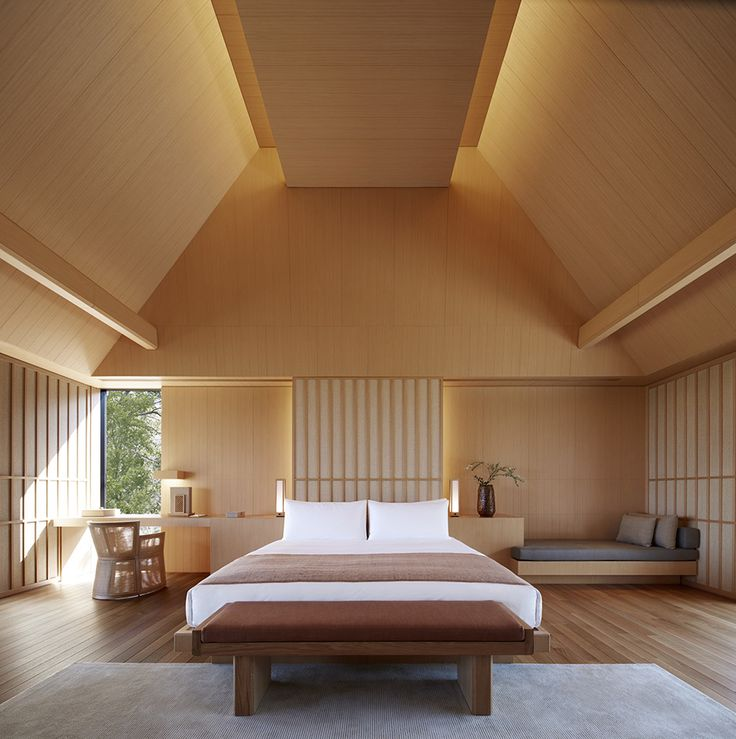 Amanemu hotel in Ise Shima National Park on the Kii Peninsula by Kerry Hill Architects
