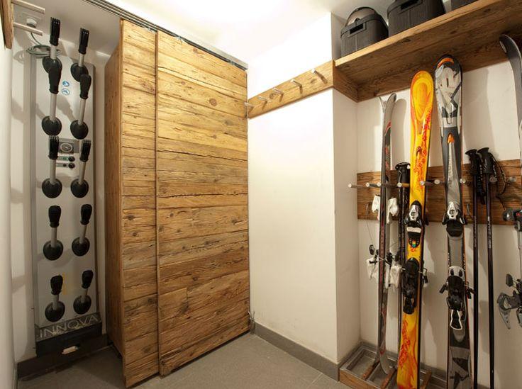 ski and gear storage