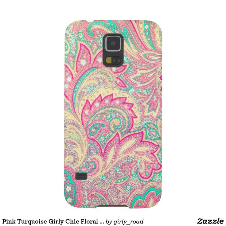 Pink Turquoise Girly Chic Floral Paisley Pattern Rug By: 71 Best Best Selling Phone Cases