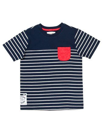Milkshake stripe t-shirt with pocket from @myer_mystore #MacquarieCentre #Christmas #outfit #gift #idea