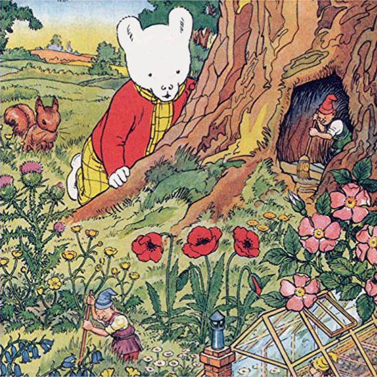 Rupert Bear and the Gnomes