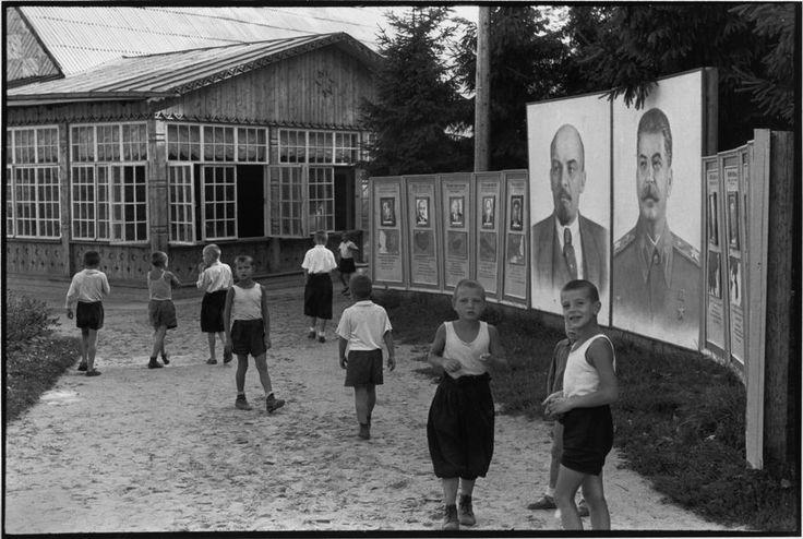 1954. Окрестности Москвы. Пионерский лагерь
