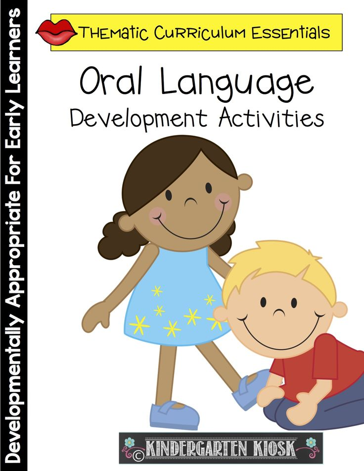 Oral Language Development Activities. Repinned by SOS Inc. Resources pinterest.com/sostherapy/.