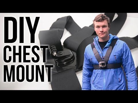 DIY GoPro Chest Mount - YouTube