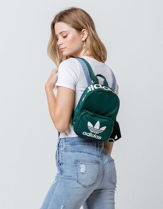 6b98b7ce9 ADIDAS Originals Santiago Green Mini Backpack - GREEN - CK5079   Tillys