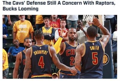Cleveland Cavaliers, Cavaliers, Paul George, Cavs Score, Pacers, Cavs Vs Pacers The Cavs' Defense Still A Concern With Raptors, Bucks LoomingSports Illustrated The Cleveland Cavaliers completed their frustrating sweep of the Indiana Pacers on Sunday, http://cur.lv/15epys