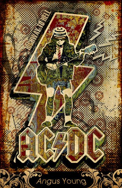 Wow! Thats a great AC/DC Poster