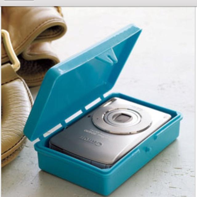 Soap case for camera protector. Genius.