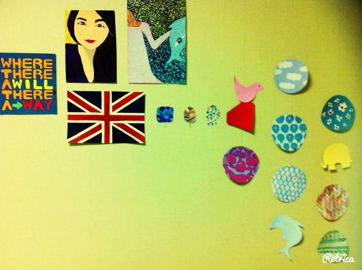 Pinterest art wall_@emjkkk