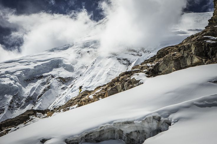 """Manaslu Ski Challenge 2014"" was the second event of the five-year project called Hic Sunt Leones.. photo: Marcin Kin Photography #suntleones #manaslu #ski"