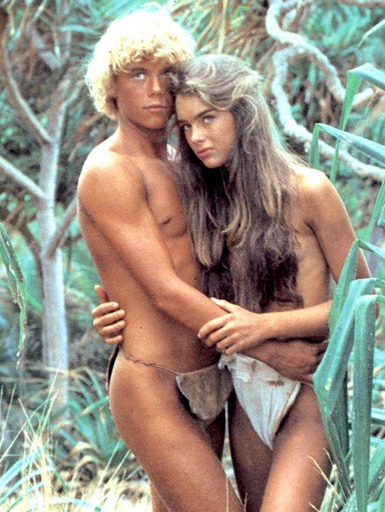 Le lagon bleu Christopher Atkins avec Brooke Shields
