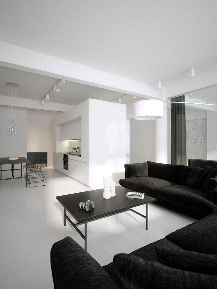 Esempio di arredamento minimalista n.07