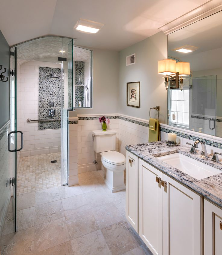 Picture Gallery Website Universal Design Award Winner by the S J Janis Company featuring Delta Faucet Master Bathroom
