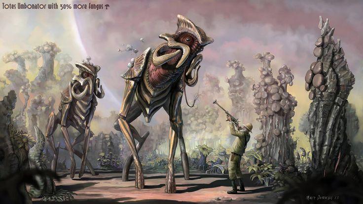 Alien Planet Creatures | tote umbonator concept alien ...
