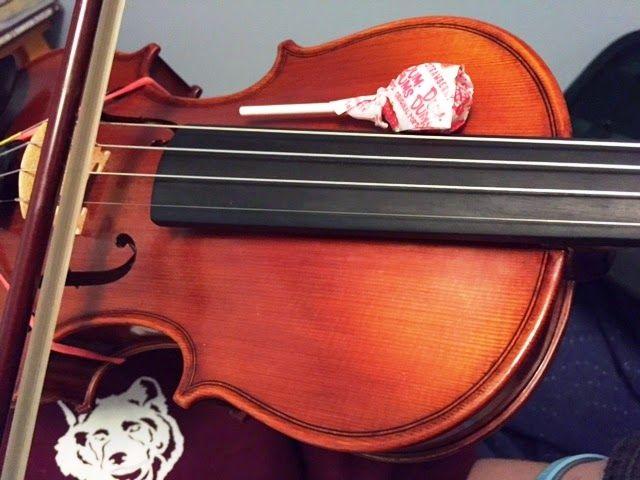 Use suckers to help fix violin/viola position