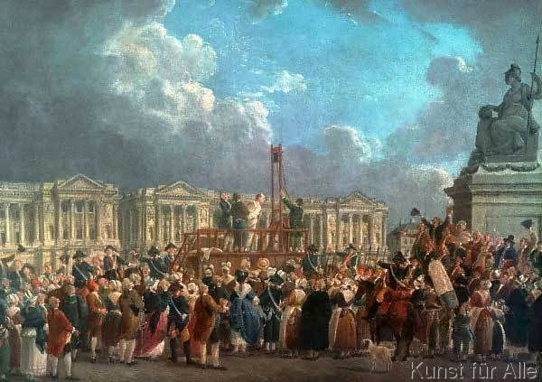 why louis xvi was executed in The execution of louis xvi i forgive those who are guilty of my death the they voted for his execution.